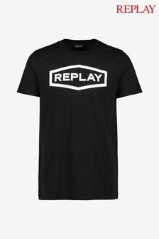 Replay® T-Shirt mit3D-Logo