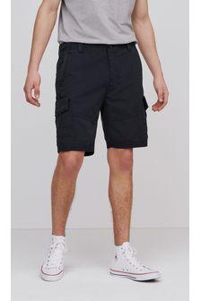 Premium Laundered Cargo Shorts