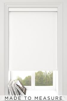 Haig Paper White Made To Measure Blackout Roller Blind