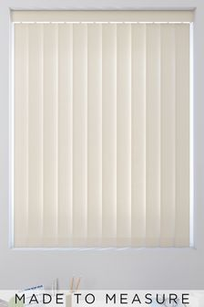 Waterproof Linen Cream Made To Measure Vertical Blind