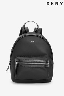 DKNY Black Nylon Casey Backpack