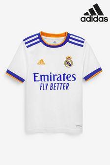 adidas Real Madrid 21/22 Home Football Shirt