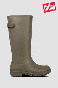 FitFlop™ Green Wonderwelly Tall Wellington Boots