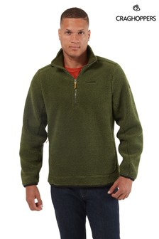 Craghoppers Green Elroy Half-Zip Fleece
