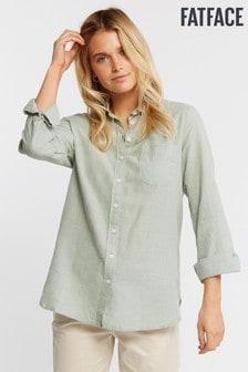 FatFace Green Olivia Shirt