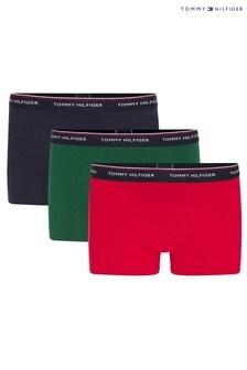 Tommy Hilfiger BluePremium Essentials Trunks Three Pack