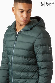 Original Penguin® Lightweight Hooded Padded Jacket