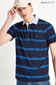 GANT Contrast Short Sleeve Heavy Rugger Shirt