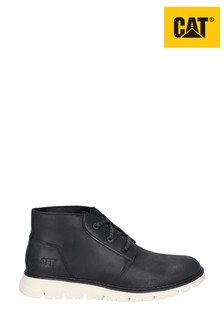 CAT Lifestyle Black Sidcup Lace-Up Shoes