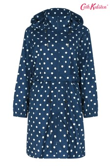 Cath Kidston Spot Long Raincoat
