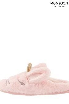 Monsoon Beatrice Bunny Slider Slippers