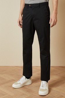 Ted Baker Black Clenchi Classic Fit Chinos