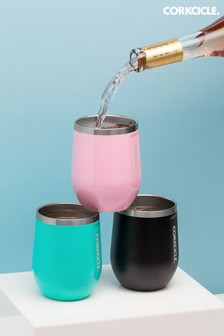 Corkcicle Pink Insulated 355ml Stemless Glass