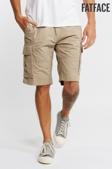 FatFace Natural Bude Lightweight Cargo Short