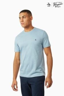Original Penguin® Pinpoint T-Shirt Featuring Pete The Penguin Chest Placement Logo
