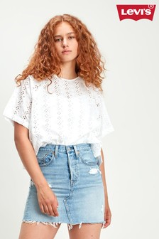 Levi's® White Cut Out Top
