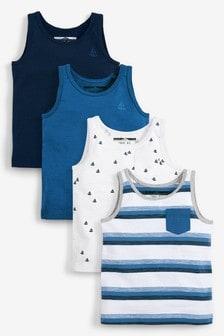 4 Pack Boat Vests (3mths-7yrs)