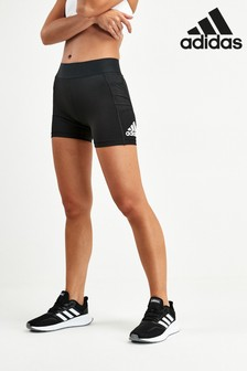 adidas Black Alphaskin Shorts