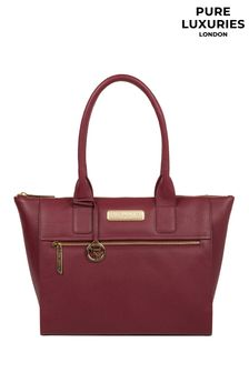 Pure Luxuries London Faye Leather Tote Bag