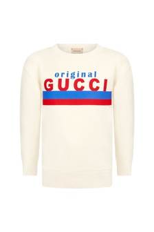 GUCCI Kids Boys Cotton Sweater