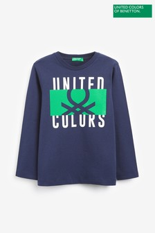 Benetton Navy T-Shirt