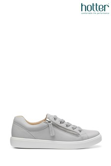 Hotter Chase Slim Fit Lace-Up/Zip Deck Shoes