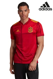 adidas Red Spain Home Jersey