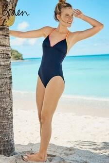 Boden Blue Sanremo Swimsuit
