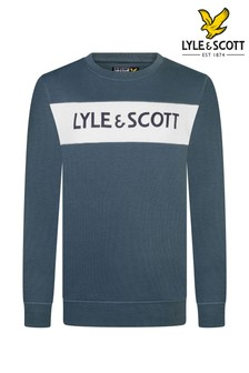 Lyle & Scott Panel Crew Sweatshirt