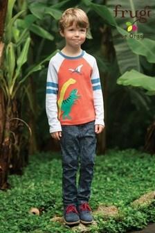 Frugi Organic Dinosaur Comfortable Stretch Jeans