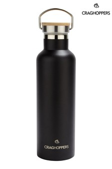 Craghoppers Black Insulated Water Bottle