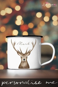 Personalised Stag Mug by Signature PG
