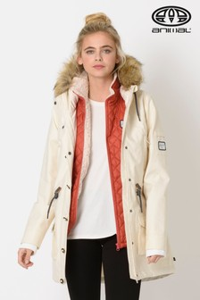 Animal Coconut Cream Viva Winta 3-In-1 Parka