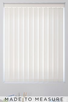 Waterproof Cream Made To Measure Vertical Blind