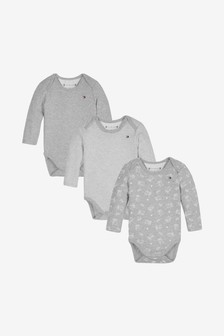 Tommy Hilfiger Grey Babygrow Giftbox