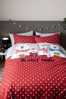 Bearly Awake Duvet Cover And Pillowcase Set