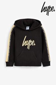 Hype. Gold Luxe Script Hoody
