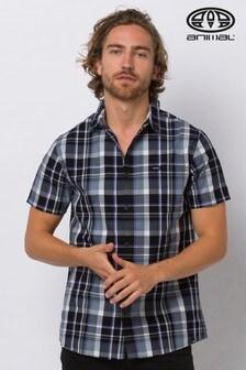 Animal Black Switches Short Sleeve Shirt