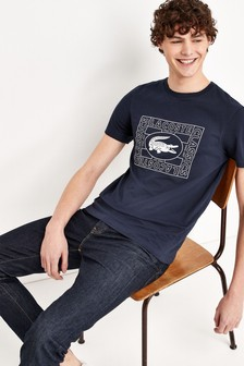 Lacoste® Heritage Stamp Logo T-Shirt