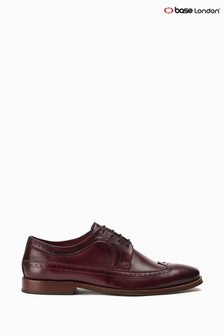 Base London Bordo Havisham Long Wing Brogues