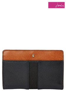 Joules Wyton Carriage Leather Zip Around Purse