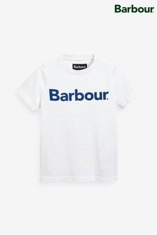 Barbour® White Logo T-Shirt