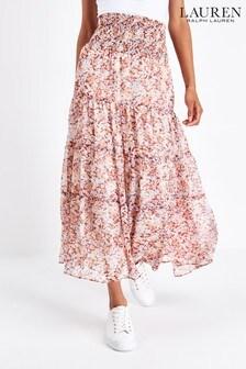 Lauren Ralph Lauren® Floral Zahra Peasant Skirt