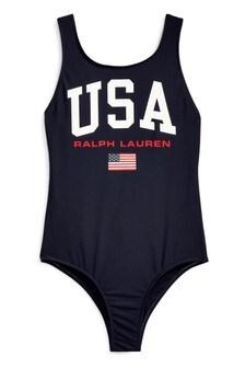Ralph Lauren Navy Swimsuit