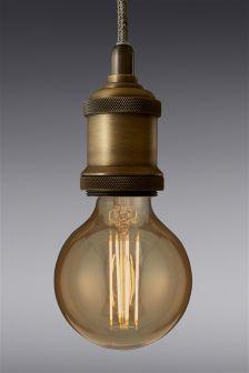 4W BC LED Retro Globe Bulb