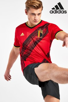 adidas Red Belgium Home Jersey