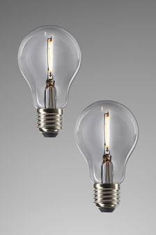 2 Pack ES Filament Bulb