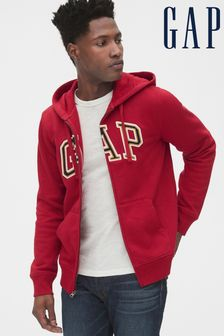 Gap Red Logo Hoody