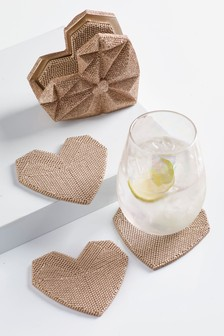 Heart Coaster Holder