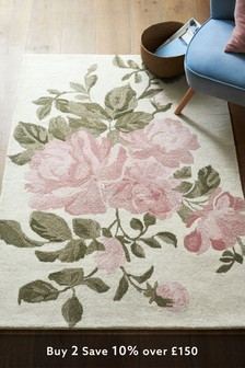 Rose Watercolour Rug